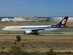 F-WWCQ Airbus A330 Jet Airways (@Eurospot) Tags: lfbo toulouse blagnac vtjwr fwwcq airbus a330 a330300 1351 jetairways