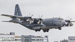 135782 HC-130J USAF, 71RQS (Anhedral) Tags: 135782 lockheed lockheedmartin c130 hercules hc130j usaf usairforce 71rqs turboprop landing einn snn shannonairport