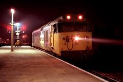Oxford Nocturne (D1059) Tags: 50005 collingwood hoover lightengine oxford britishrail