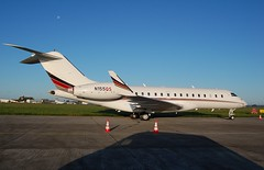 N155QS BD700 Global 6000 Net Jets (corrydave) Tags: 9832 bd700 global globalexpress n155qs netjets shannon biz global6000