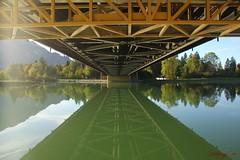 IMG_3553 (ChPflügl) Tags: salzburg österreich austria autumn fall herbst spazieren puch bei hallein urstein sunshine altweibersommer salzach kitsch chpflügl chpfluegl christian europe europa eu world erde bridge brücke