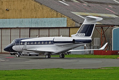 N272GA Gulfstream 280 (SteveDHall) Tags: 2019 egnh bpl blk blackpool blackpoolairport aircraft airport aviation airfield aerodrome aeroplane airplane biz bizjet businessjet executivejet privatejet corporatejet n272ga g280 gulfstream280 gulfstream gulf gulf280