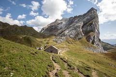 stein vor stein (dadiolli) Tags: vorarlberg vandans österreich alps hiking hütte rätikon schweiz berge alpen
