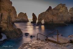 Portugal 2019 - Ponta da Piedade (cesbai1) Tags: portugal 2019 da plage beach sea sunrise lever de soleil algarve lagos seaside ponta piedade praia