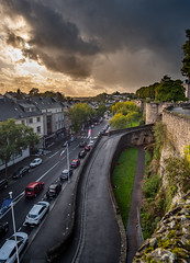 Saint Lô (Laetitia.p_lyon) Tags: fujifilmxt2 saintlô normandie manche sunset coucherdesoleil remparts fortification