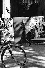 Depth (atroche1978) Tags: canon canonet ql17 black white bw negative kodak trix 400 asa new york city nyc street grain photography film rangefinder