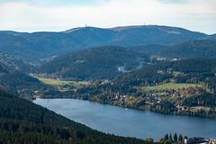 Blick auf den Titisee und den Feldberg vom Hochfirstturm (lt_paris) Tags: urlaubimschwarzwald2019 schwarzwald hochfirst turm hochfirstturm fernblick wald titisee gewässer see feldberg