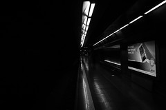 italy19flickr-26 (Joeffrey Sohy) Tags: italy cities napoli panoramic streetphotography bw blackandwhite subway