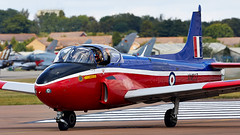 Jet Provost (Bernie Condon) Tags: jetprovost jp jet trainer raf royalairforce military vintage preserved hunting bac riat airtattoo tattoo ffd fairford raffairford airfield aircraft plane flying aviation display airshow uk
