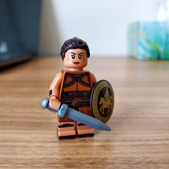 Odds and Ends #1 (th_squirrel) Tags: lego dc comics wonder woman amazon amazonian minifig minifigure