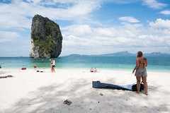 (Miguel Angel Fortunato) Tags: krabi tailandia thailand mujer hermosa woman aonang podaisland phranang tonsay sudesteasiático
