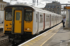 Greater Anglia Class 317 317667 (Rob390029) Tags: greater anglia class 317 317667 bethnal green bet