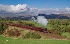 6201 At Soulby.  12/10/2019. (briandean2) Tags: 6201 princesselizabeth lmsprincessroyalclass soulby cumbria settlecarlislerailway steam railways cumbriansteam cumbrianrailways uksteam ukrailways