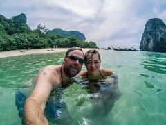 (Miguel Angel Fortunato) Tags: tailandia krabi thailand juntos love amor yo mujer hermosa woman aonang podaisland phranang tonsay sudesteasiático
