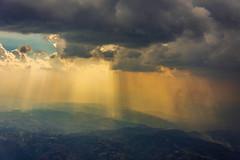 Storm over the mountains (FVillalpando) Tags: guatemala clouds storm sunset light travel sky nature ngysa