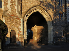 Photo of Abbey gateway, 1365, St Albans, England