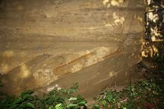IMG_3520 (ChPflügl) Tags: salzburg österreich austria autumn fall herbst spazieren puch bei hallein urstein sunshine altweibersommer salzach kitsch chpflügl chpfluegl christian europe europa eu world erde sandstone cross bedding sandstein diskordanz