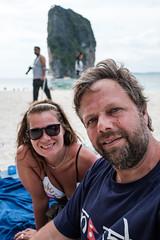 (Miguel Angel Fortunato) Tags: krabi tailandia thailand juntos love amor yo mujer hermosa woman aonang podaisland phranang tonsay sudesteasiático