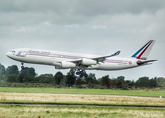 FRENCH AIR FORCE A340 F-RAJA (Adrian.Kissane) Tags: fraja 392019 75 a340 shannonairport shannon frenchaf