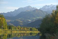 IMG_3578 (ChPflügl) Tags: salzburg österreich austria autumn fall herbst spazieren puch bei hallein urstein sunshine altweibersommer salzach kitsch chpflügl chpfluegl christian europe europa eu world erde bad dürnberg