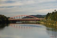 IMG_3544 (ChPflügl) Tags: salzburg österreich austria autumn fall herbst spazieren puch bei hallein urstein sunshine altweibersommer salzach kitsch chpflügl chpfluegl christian europe europa eu world erde bridge brücke