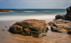Rocas en la Playa (T. Dosuna) Tags: playadefoz fotografíadepaisaje fotografialargaexposición paisajegallego fozlugogalicia españa spain landscape tdosuna nikon d7100 rocasymar