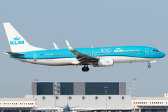 KLM Boeing 737-800 PH-BXB | Milano - Malpensa (MXP-LIMC) | 21st September 2019 (Brando Magnani) Tags: aeroplane airplane airline aircraft airport aviation travel outside colours blue netherlands holland