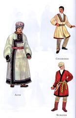 Traditional costumes of Turkic people: Chalkandu, Altai & Kumandi (ali eminov) Tags: costumes traditionalcostumes folkcostumes turkicpeople chalkandu altai kumandi