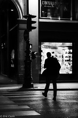 Night Challenge 11-10-19-0909 (Ecazin) Tags: paris balade noir et blanc black white bw street photography contrast eos 6d mark ii 2 canon city night opera louvre challenge metro subway vertical verticals