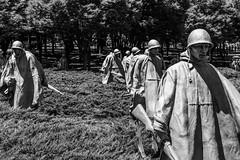 Ghost Soldiers - Korean War Memorial