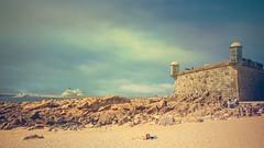Praia do Castelo do Queijo (Ro Cafe) Tags: oporto portugal summer travel beach seascape castle fort nikkor2470mmf28 sonya7iii