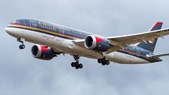Boeing 787-8 Dreamliner JY-BAF Royal Jordanian (William Musculus) Tags: london heathrow lhr egll airport spotting aviation plane airplane william musculus jybaf royal jordanian boeing 7878 dreamliner rj rja