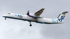 Bombardier DHC-8-402Q G-ECOJ Flybe (William Musculus) Tags: london heathrow lhr egll airport spotting aviation plane airplane william musculus bombardier dhc8402q gecoj flybe be bee de havilland canada dhc8400 dhc8q400 q400 dash8q400