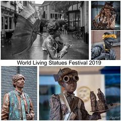 World statues festival 2019 (Digifred.nl) Tags: digifred 2019 nikond500 nederland netherlands holland straat street city grachten streetphotography arnhem standbeelden statues worldstatuesfestival evenementen event levendestandbeelden