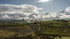 In the Distance (4486Merlin) Tags: england europe northwest unitedkingdom transport steam railways 6201 princesselizabeth exlms lms8pprincessroyal cumbria wcml greenholme wcrc rytc cumbrianmountainexpress