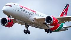 Boeing 787-8 Dreamliner 5Y-KZJ Kenya Airways (William Musculus) Tags: london heathrow lhr egll airport spotting aviation plane airplane william musculus 5ykzj kenya airways boeing 7878 dreamliner kqa kq