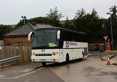 Rail Replacement at Ely (Chris Baines) Tags: britannia executive hitchen setra r162 aau rail replacement ely