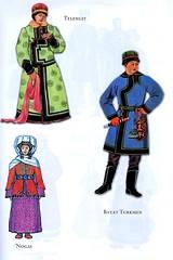 Traditional costumes of Turkic people: Tellengut, Nogai & Bayat Turkmen (ali eminov) Tags: costumes traditionalcostumes folkcostumes turkicpeople telengut nogai bayatturkmen