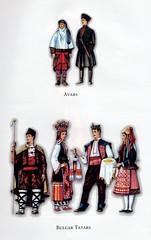 Traditional costumes of Turkic people, Avars & Bulgar Tatars (ali eminov) Tags: costumes traditionalcostumes folkcostumes turkicpeople avars bulgartatars