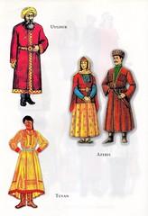Traditional costumes of Turkic people: Uyghur, Azeris & Tuvan (ali eminov) Tags: costumes traditionalcostumes folkcostumes turkicpeople uyghur azeris tuvan
