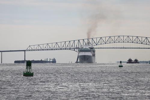 Royal Caribbean's Grandeur of the Seas - Arriving in Baltimore, Maryland - October 12th, 2019