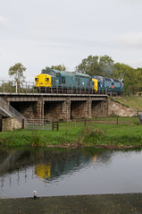 37109 - Wansford - 12.10.2019 (Tom Watson 70013) Tags: wansford nvr diesel gala class55 55019 royal highland fusilier class37 37109