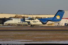 Canadian North DH8C CGJCN (Sandsman83) Tags: airplane aircraft plane cyyc yyc calgary landing canadian north empress dhc dash8 cgjcn dhc8