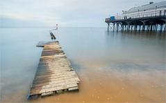 Seascape .............. (Alan Burkwood) Tags: cleethorpes groyne pier filters le lee