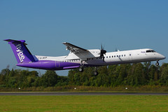 G-JECP (c) 21/09/19 Manchester (EGCC) (Lowflyer1948) Tags: gjecp dhc8402 210919 manchester flybe
