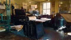 The Printers (DomWphoto) Tags: topazlabs countydurham interior northeastengland shop beamishmuseum digitalart digitalpainting adobephotoshop enhancedimages printers objects september museum stanley england unitedkingdom
