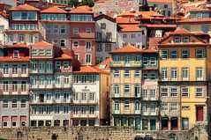 Porto riverfront (ValterB) Tags: 2019 portugal valterb view river riverfront nikond90 nikkor colors colour color porto house hot architecture abstract urban urbanphotography urbangeometry building buildings yellow