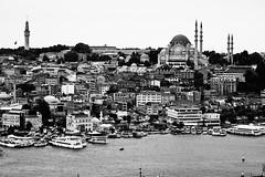 20110812 Ottoman Peak ([Ananabanana]) Tags: nikon tamron d40 tamronaf70300mmf456dildmacro 70300mmf456dildmacro tamron70300mmaff4556dildmacro tamronaff4556dildmacro 70300mmf456dildm turkey türkiye gimp istanbul 70300mm constantinople byzantium 70300 bosporus tamron70300mm nikonistas türkiyecumhuriyeti republicofturkey nikonista photoscape sea sky skyline clouds marine islam religion mosque bosphorus goldenhorn sunni fath camii istanbulboğazı βόσποροσ blackandwhite tower history minaret faith historic ottoman mosques minarets beyazıt blackwhitebwmonochromegreyscalegalatagalata towerbeyazıt