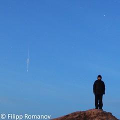 I am and meteor over the Sea of Japan (filipp.romanov) Tags: astronomy meteor sea primorsky krai