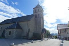 Église Saint André @ Copponex @ Hike to Gorge des Usses